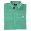 Men's Emerald Short Sleeve Soft Touch Poplin