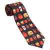 Men's Food Icon Tie