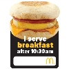 Egg McMuffin Name Badges/Pack of 10