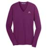 Ladies Berry V-Neck Sweater