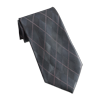 Men's Gray Argyle Tie