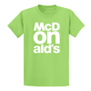 Lime McDONald's T-Shirt