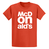 Orange McDONald's T-Shirt