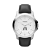 M. Fossil Leather Watch