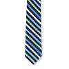 Men's Blue/Kiwi Stripe Tie