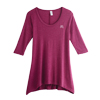 Ladies' Hi-Lo Flowy 3/4 Sleeve Tunic