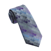 Men's Purple & Blue Dots Tie