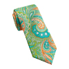 Men's Lime Paisley Tie