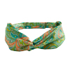 Ladies' Lime Paisley Scarf