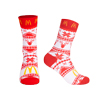 Snowflake Holiday Dress  Sock