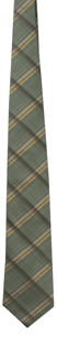 Men's Green Plaid Tie