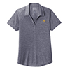 Ladies' Sport-Tek Heather Polo Navy