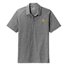 Men's Tri-Blend Heather Polo Grey