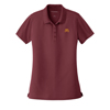 Ladies' Dry Zone Polo Burgundy