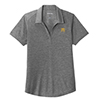 Ladies' Tri-Blend Heather Polo Grey