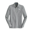 Grey Men's Interlock Polo Cover Up