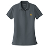 Ladies' Dry Zone Polo Steel Grey