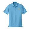 Men's Dry Zone Polo Light Blue