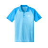 Men's Turquoise Blue Heather/ Turquoise Blue Sport Shirt