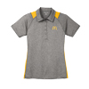 Ladies' Color Block Polo Gray/Yellow