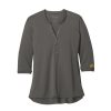 Ladies' Sterling Grey Henley