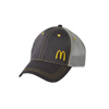 Grey Cap with Yellow Stitching
