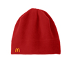 Red Fleece Beanie