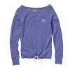 Ladies' Periwinkle Blue MV Sport Drawcord Crewneck