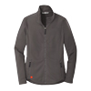 Ladies' Grey Smooth Fleece