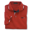Red Racing Sport Shirt w/Soil Release
