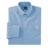 Men's Long Sleeve Dress Shirt Light Blue