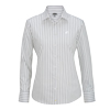 Ladies' Double Stripe Dress Poplin L/S Shirts