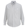 Men's Double Stripe Dress Poplin L/S Shirts