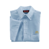 Men's Short Sleeve Ice Blue Poplin