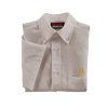 Men's Short Sleeve Light Grey Poplin