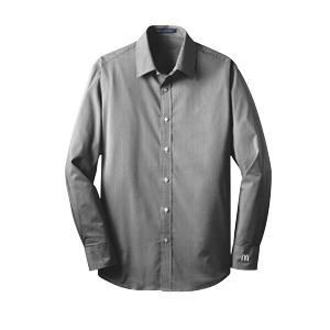 Men's Fine Stripe Stretch Poplin Shirt