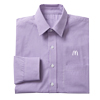 Men's Plum Gingham Check L/S