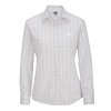 Ladies' Tattersall Poplin Long Sleeve Shirts