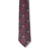 Men's Burgundy Tie