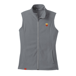 Ladies' Fry Box Icon Microfleece Vest