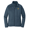 Ladies' North Face Luxe Fleece in Navy Heather