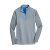 Grey/Blue Nike Golf Therma Fit 1/2 Zip Cover Up.