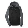 Grey/Black Men's Varsity Fleece Full Zip Jacket