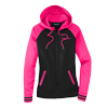 Pink/Black, Ladies' sizes - Ladies'  Varsity Fleece Full Zip