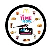 All Day Breakfast Wall Clock