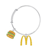 Big Mac Bangle Bracelet