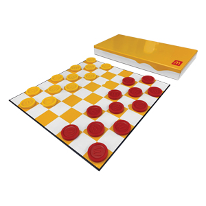 McDonald's Custom Checkers Set