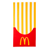 French Fry Box Beach Towel