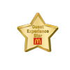 Guest Experience Star Lapel Pin