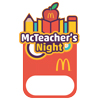 McTeacher's Night Name Badges - Set of 10